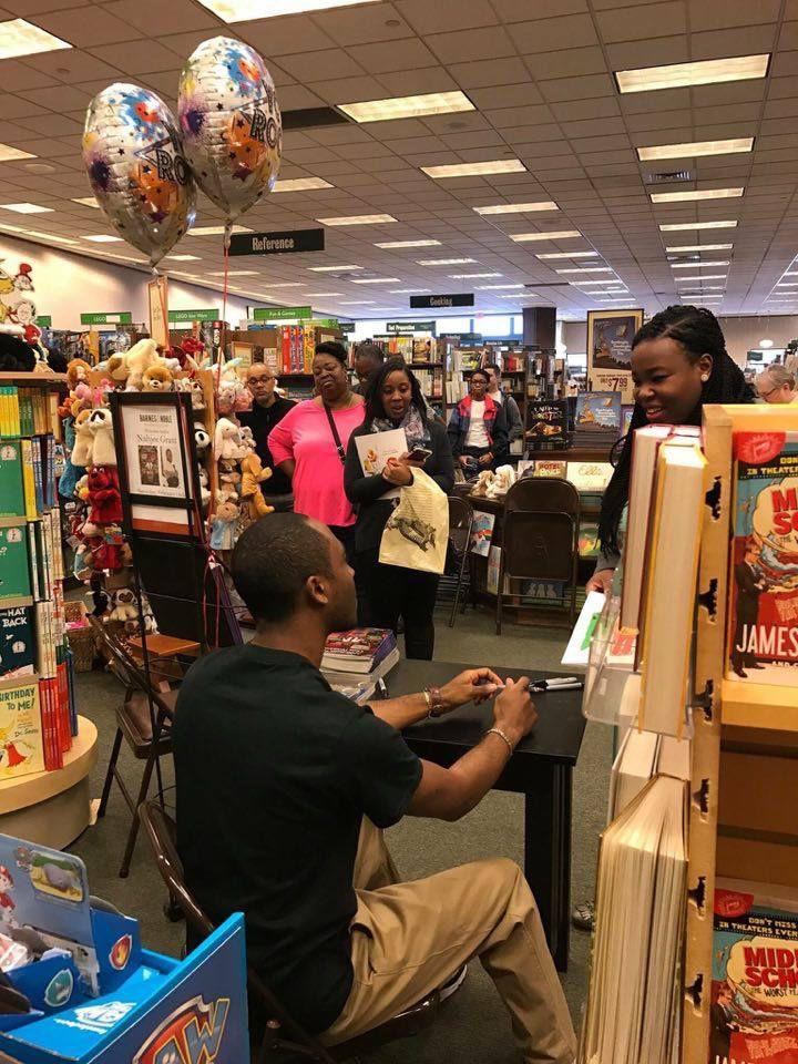 Trump V Lavar >> Children's book author holds signing in Broomall | Metros | phillytrib.com
