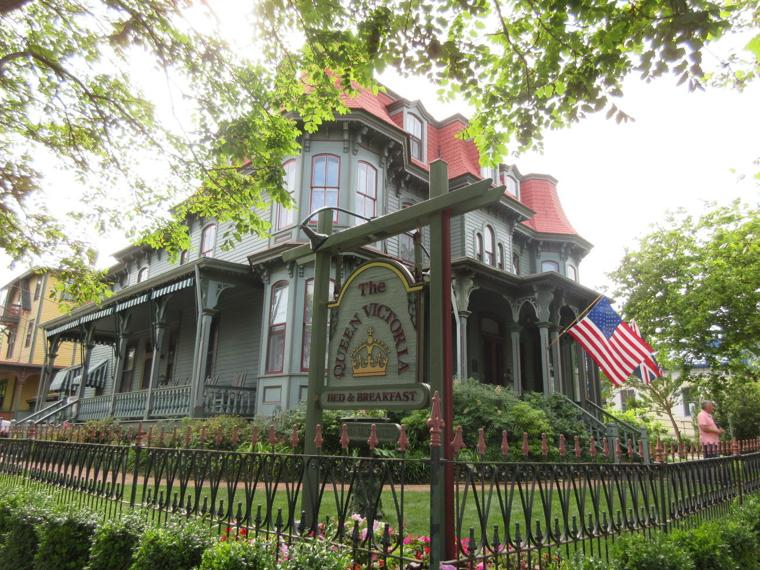 Cape may charms with history victorian homes the for Victorian house facts