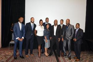 <p>Shown are the Tribune's 10 people under 40 to watch, on Thursday, Sept. 11 at the Philadelphia Tribune's 2014 Most Influential African Americans ceremony held at the Pennsylvania Convention Center. — PHOTO BY TRIBUNE CHIEF PHOTOGRAPHER ABDUL R. SULAYMAN</p>