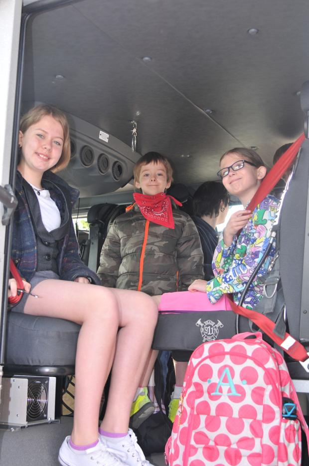 Burning Desire To Read Winners Get A Special Ride To School