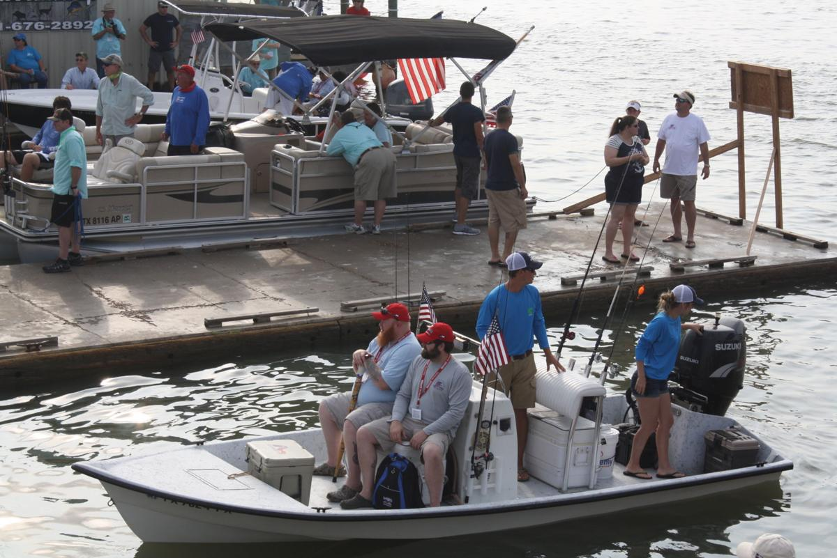 Warrior s weekend cruises into county saturday around for Port lavaca fishing