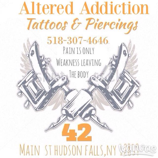 Altered Addiction Tattoos & Piercings
