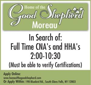 Full Time CNA's and HHA's