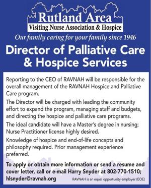 Director of Palliative Care & Hospice Services