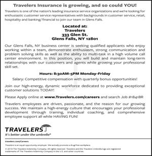 Travelers Insurance is growing, and so could YOU!