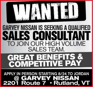 GARVEY NISSAN IS SEEKING A QUALIFIED