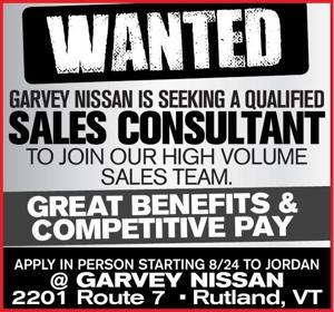 GARVEY NISSAN IS SEEKING A QUALIFIED