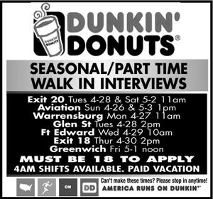 SeaSonal/Part time
