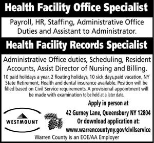 Health Facility Office Specialist
