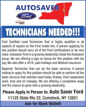 Technicians needed!!!