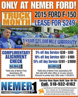 ONLY AT NEMER FORD!