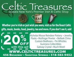 Whether you're Irish or just wish you were, visit us for the finest Celtic