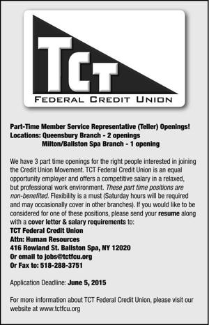 Part-Time Member Service Representative (Teller) Openings!
