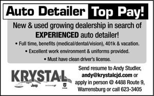 Auto Detailer Top Pay!