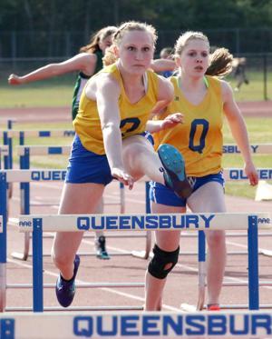Queensbury vs Hudson Falls track