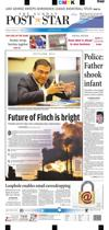 Feb. 15, 2015 - Post-Star front page