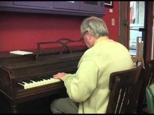 Public Pianos of Downtown Glens Falls: Samantha's Cafe & Catering
