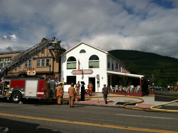 Lake George Pizzeria Damaged In Fire