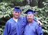 Navy veteran graduates