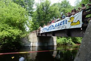 25th annual Kiwanis Duck Race