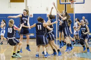 Lake George vs. Fort Edward -- Adirondack League girls basketball championship game