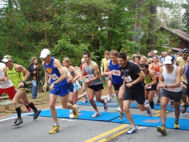 Hundreds compete in Schroon Lake marathon  Local ...