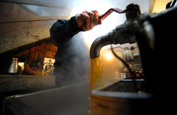 Warm weather means early start for maple-sugaring