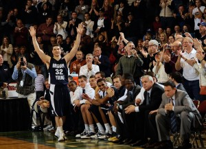 Fredette leads BYU past Vermont (photos, video)