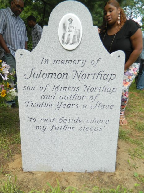 New Headstone Unveiled To Help Tell Story Of Solomon