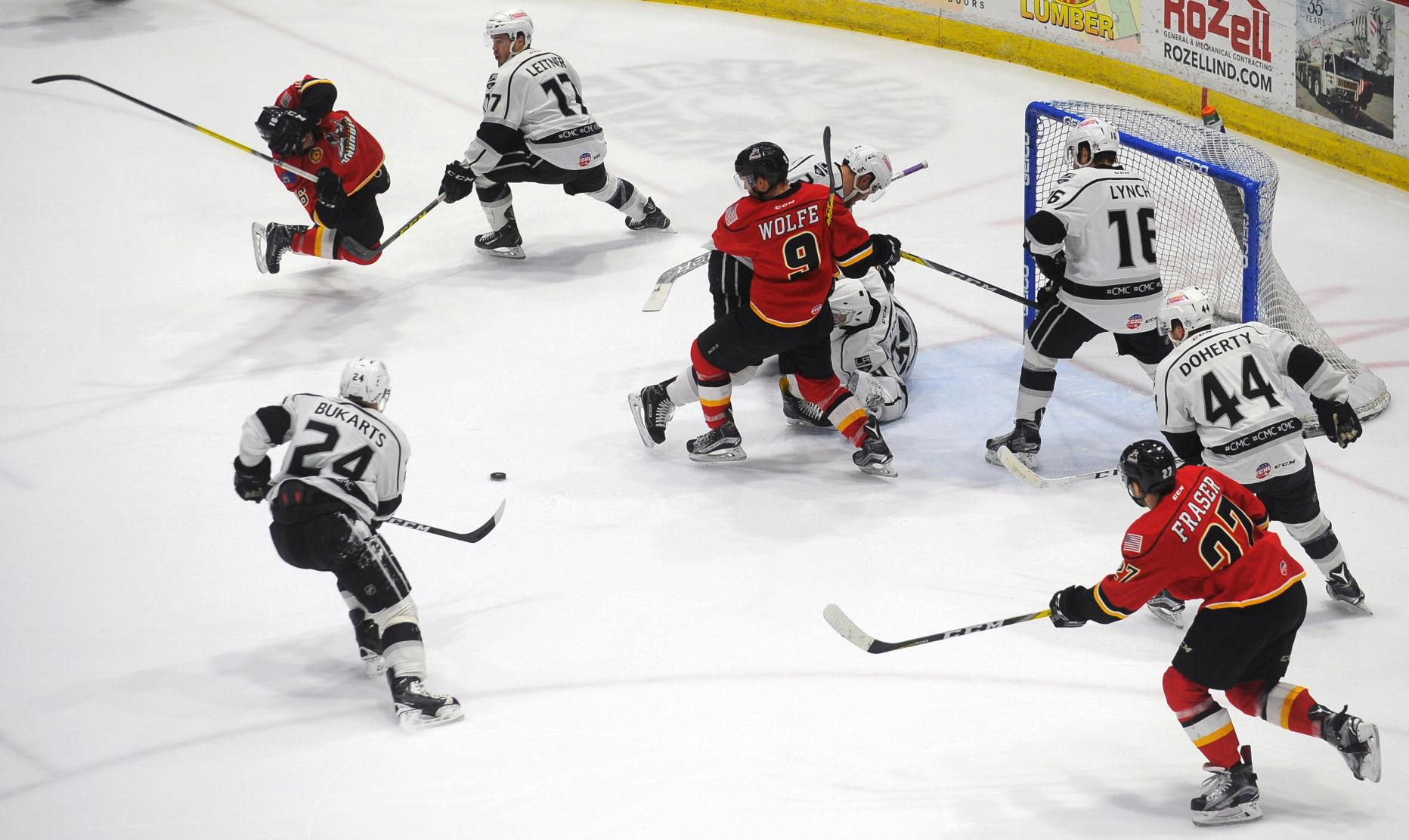 ECHL: Thunder Score 10 To Beat Manchester