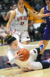 Indians fall in Foothills girls hoops title game