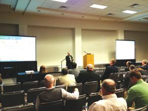 <p>More than 40 speakers will give presentation across all areas of topics at the Midwest Poultry Federation Convention.</p>