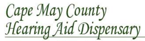 Cape May County Hearing Aid Dispensary