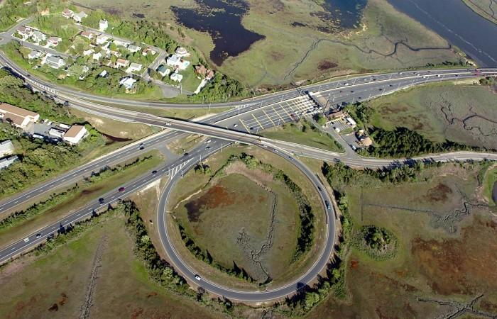 Parkway aerials