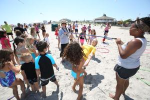 Margate holds Beachstock party
