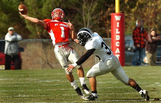 St. Joseph refuses to lose, beating Egg Harbor Township 20-7