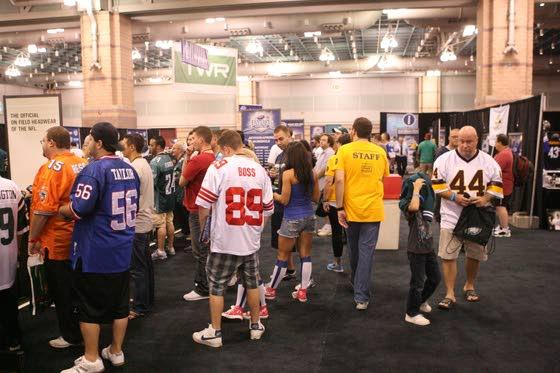 Fantasy players have plenty to pick from on first day of Fantasy Football Fest in Atlantic City