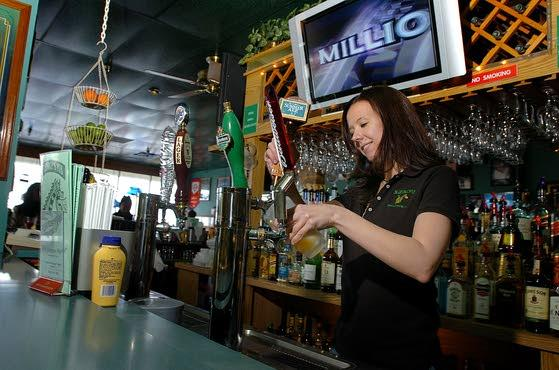 St. George's Pub in Brigantine serves up a tasty, large meal