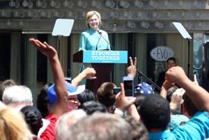 Local 54 parent union endorses Hillary Clinton