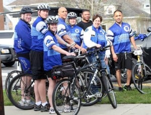 A ride to rememberPleasantville police  participating in bike event honoring fallen officers