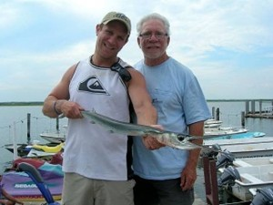 Shep on Fishing: 2.5-pound houndfish caught by Evan Winokur of Ventnor off Ocean City