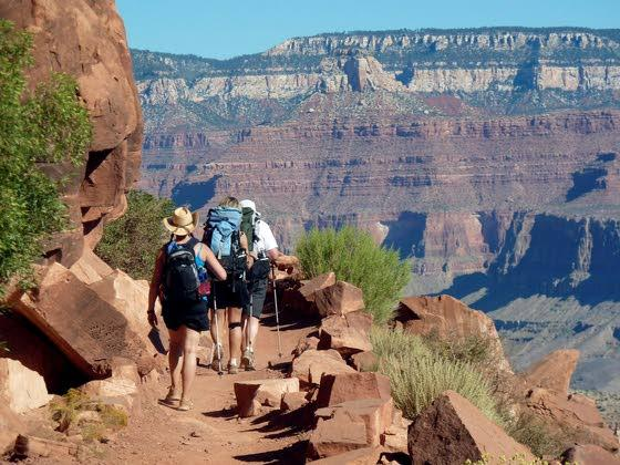 Hiking Grand Canyon yields views you can't get from its rim