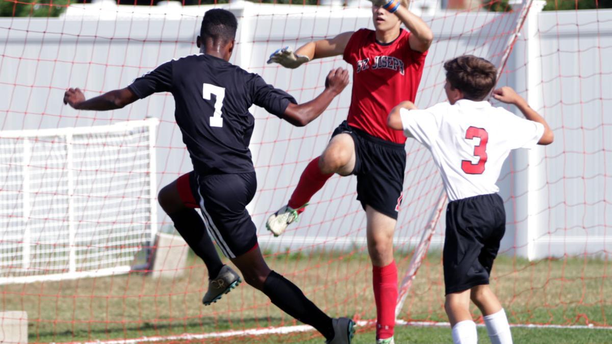 Pleasantville at St. Joseph Boys Soccer