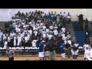 Video of Hammonton's celebration after beating Kingswayon Feb. 28, 2013