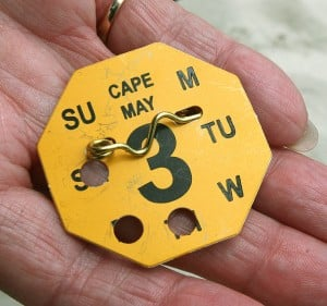 beach tags
