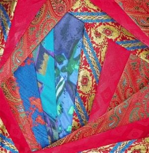 'Crazy Quilt' Collages On Exhibit In Lower  Twp.: Fabric collages by fiber artist Mary Stewart are on exhibit in July at the Lower Township Library, 2600 Bayshore Road, in the Villas section of the township.