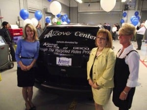 Alcove Center benefits from recycled auto program