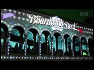 Behind the scenes: Boardwalk Beat 3D light & sound show
