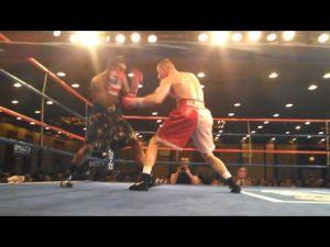 Somers Point's Patrick Majewski fights Jamaal Davis