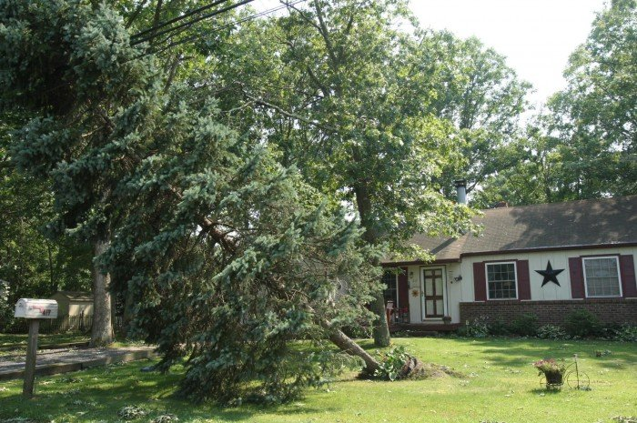 Storm damage